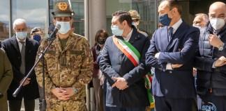 Ipazia, visita del generale Figliuolo