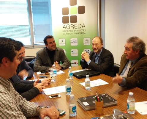 Victor Naudi, Jaume Bartumeu i AGREDA