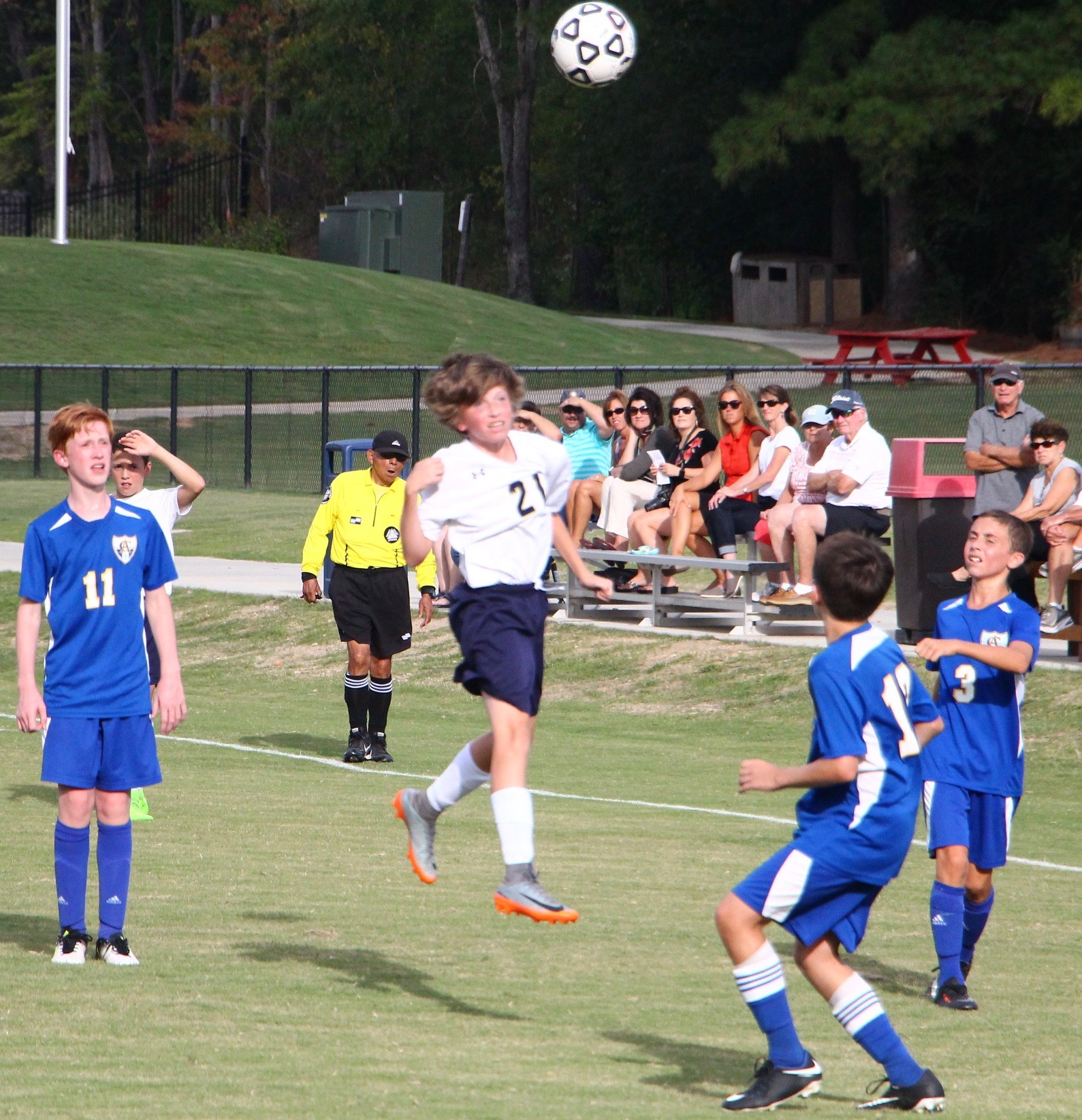Middle School Boys Soccer