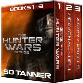 Hunter Wars Books 1-3 Cover