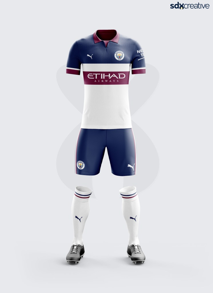 Manchester City Puma Alternative Kit Concept