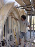 PRISM stonework repair East Window 25th April 2018 IMG_1979