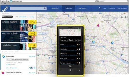 نوكيا تعيد تسمية خرائطها وتسوقها تحت اسم Nokia HERE