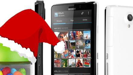 Sony تفاجئ مستخدمي Xperia T وتحدث هاتفهم للـ JellyBean