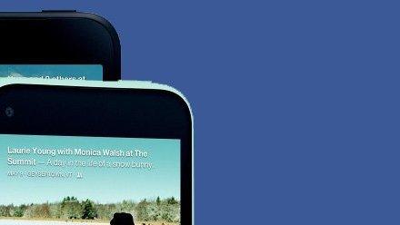 Facebook: تزيح الستار عن HTC First والواجهة الجديدة