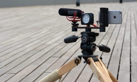 إلتقط فيديو اكثر ثباتا و وضوحاً من الهاتف مع Shoulderpod#
