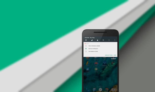 خيارات التنبيهات في Android Nougat إلزامية على الجميع