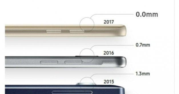 صورة مسربة تقدم تصميم جديد للكاميرا الخلفية لهاتف #سامسونج Galaxy S8 المرتقب