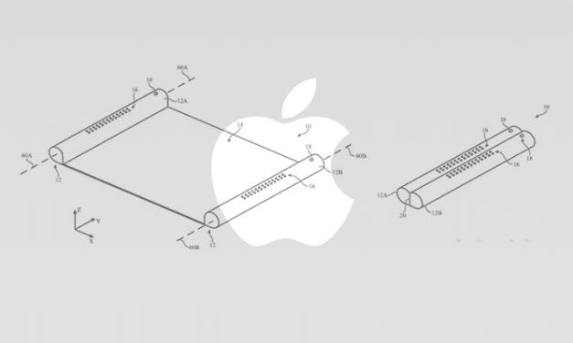 براءة إختراع لجهاز إلكتروني ذو شاشة قابلة للسحب والطي قادم من #آبل