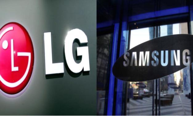#سامسونج و إل جي يواجهان مشاكل في صنع شاشات منحنية من أربع جهات