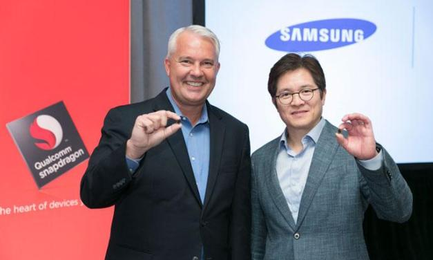 #سامسونج تتعاون مع #كوالكوم لتطوير معالج جديد لهاتف #Galaxy_S9
