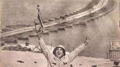 """صورة تكريم أيقونة نصر أكتوبر """"عبد الرحمن القاضي"""" صاحب الصورة الخالدة على الجبهة"""