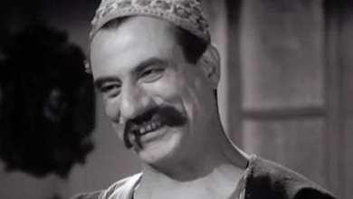 """صورة الفنان أسعد مصطفى """"عبد الصمد"""" ناظر العزبة في فيلم """"تمرحنة"""""""
