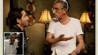 """صورة محمود الفيشاوي والد أحمد حلمي في فيلم """"ألف مبروك"""""""