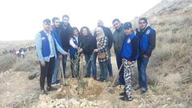 صورة عشر آلاف شجرة حراجية تزرع احتفالا بعيد الشجرة في سورية
