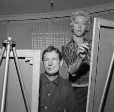 صورة حقيقة سرقة لوحات مارغريت كين، السارق زوجها.. اعرف التفاصيل
