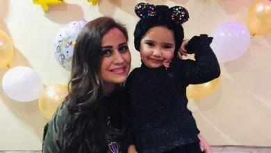 صورة النجمة هلا يماني تحتفل بعيد ميلاد ابنتها لانا في أكشن