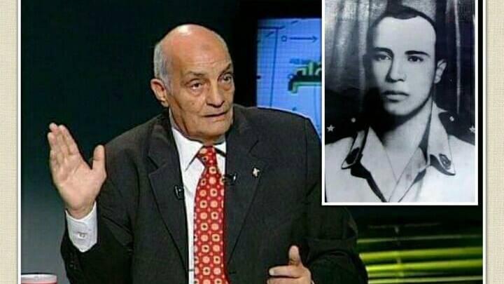 العقيد محمود بكر شقيق الشهيد الملازم نبيل الوقاد