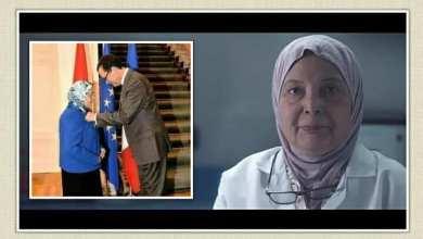 صورة أ.د.فرحة الشناوي حفيدة الإمام الأكبر محمد مأمون الشناوي شيخ الجامع الأزهر
