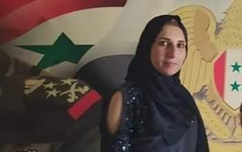 """صورة نور الهدى الحسني """"مديرة قسم الإعلان والتسويق في جريدة بقعة ضوء"""