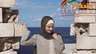 صورة غادة سلامة .. رسوماتها تخاطب نبضات القلوب والعقول معًا