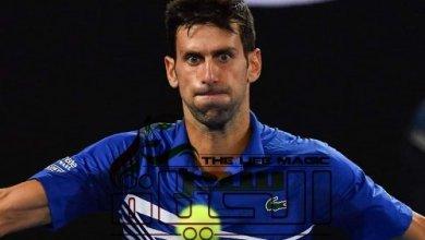 Photo of إصابة المصنف الأول عالميًا في التنس بالكورونا