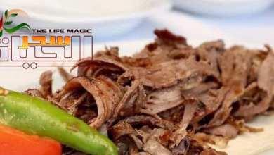 صورة تحضير شاورما اللحم بطريقة منزلية سهلة