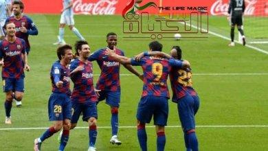 صورة التشكيلة الرسمية لبرشلونة أمام ألافيس