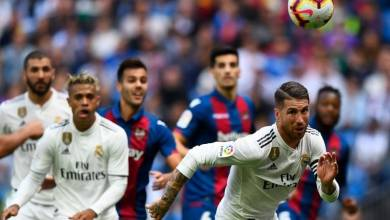"""صورة في الليجا الأسباني"""" ريال مدريد بمواجهة ليفانتي اليوم."""