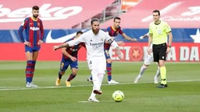 صورة كلاسيكو الأرض ريال مدريد يهزم برشلونه في عقر داره