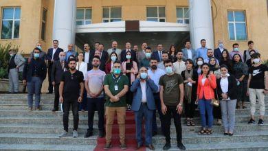 صورة مؤتمر بروميدياسيون في دهوك  عودة النازحين إلى سنجار المعوقات والحلول