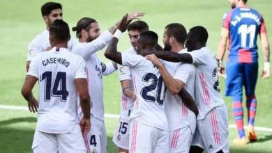 صورة دوري أبطال أوروبا ريال مدريد بمواجهة انتر ميلان