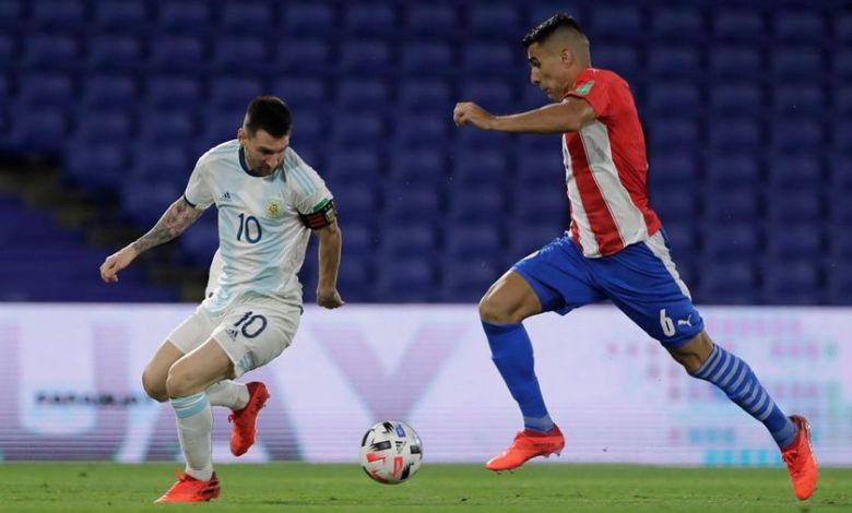 الأرجنتين تكتفي بالتعادل مع باراغواي في تصفيات كأس العالم