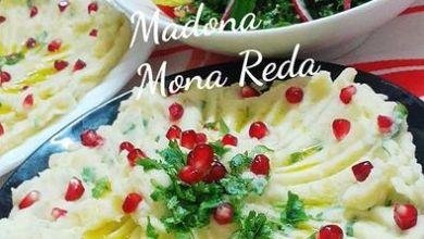 """صورة طبخات بنت الشام"""" البطاطا المهروسة بالمايونيز"""" وطريقة تحضير التبولة الشامية"""
