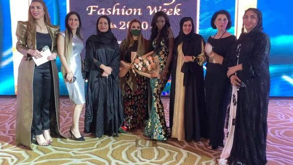 المصممة العالمية عائشة الشامسي تتألق بأحدث التصاميم والإبداع لعام ٢٠٢١