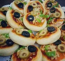 طريقة تحضير بيتزا /ميني / للحفلات
