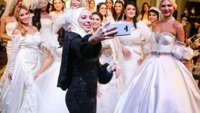 صورة *غالية الفهد* عرضين أزياء لمجموعة فساتين زفاف ٢٠٢١ بعنوان بياض الثلج