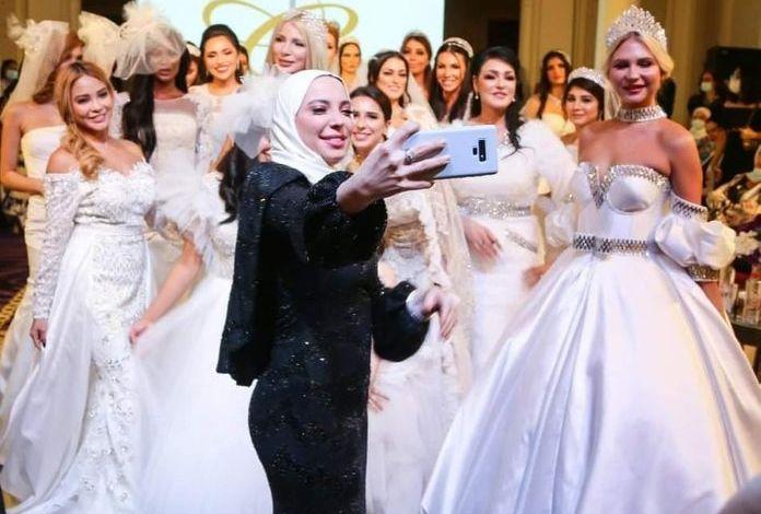 *غالية الفهد* عرضين أزياء لمجموعة فساتين زفاف ٢٠٢١ بعنوان بياض الثلج