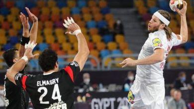 صورة الفراعنة يحرجون أبطال العالم لكرة اليد