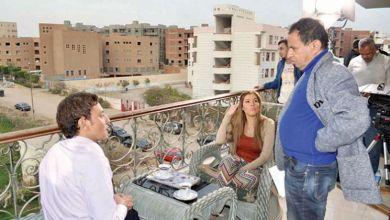 صورة رانيا فريد شوقي توجه رسالة للمخرج رائد لبيب