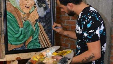 صورة أنطون أيمن .. رسام مصري يعشق الرسم منذ طفولته