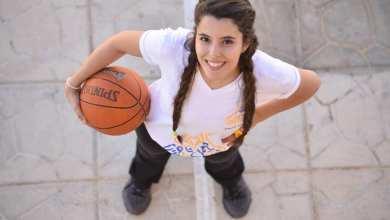 """صورة لاعبة كرة السلة السورية هبة الله عبدو"""" أطمح لتحقيق ذاتي من خلال لعبتي"""""""