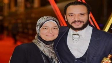 صورة أحمد خالد صالح نعى والدته بكلمات مؤثرة جدا