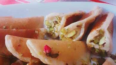 """صورة طبخات بنت الشام """"طريقة تحضير القطايف """""""