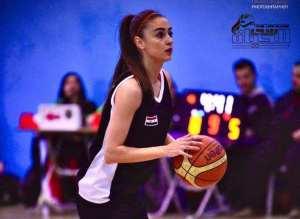 """الاعلامية والرياضية السورية شام الحلواني """" كرة السلة هي شغفي"""""""