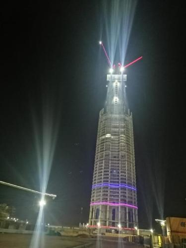 أطول برج في إفريقيا «البرج الأيقوني»