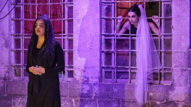 """صورة مسرحية """" المسرحية"""" رسالة لكل امرأة أن تنهض بقرار الإرادة والقوة"""