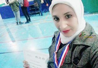 """صورة المدربة السورية نور الحلاق """" واجهت القليل فقط من الصعوبات و أغلبها كان الخوف من الفشل"""""""