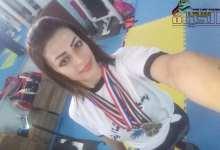 """صورة بطلة القوة البدنية السورية لميس خليل""""أفتخر بنفسي وبإنجازاتي التي حققتها بفترة قصيرة"""""""
