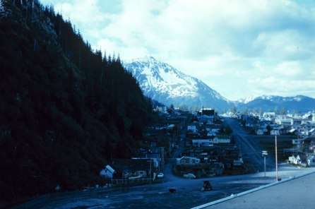 View from Seward, Alaska 1959